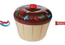 cupcake gonfiabile aquafresh