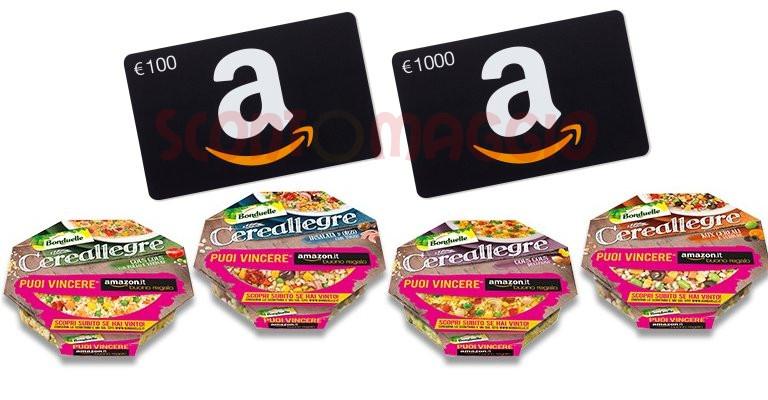 11a043dcea Bonduelle Cereallegre: vinci buoni Amazon ogni giorno! - scontOmaggio