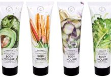 hands on veggie body mousse