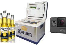 corona cooling box go pro