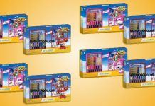 super wings set scuola