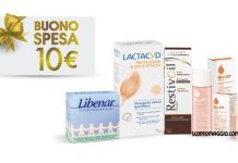 lactacyd restivoil biooil buono spesa