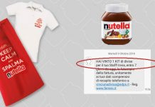 nutella divisa staff