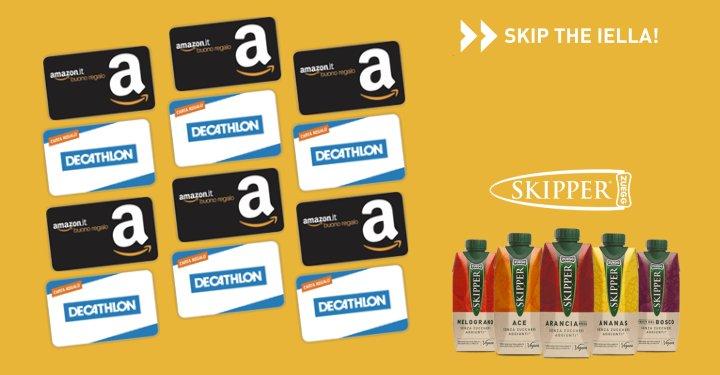 e5cfa3c0b9 #Skiptheiella: vinci gratis buono Amazon e Decathlon - scontOmaggio