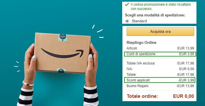 01ba960606c218 Amazon: spedizione gratis per tutti per 1 settimana! - scontOmaggio