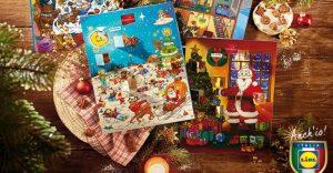 Lidl Calendario Avvento.Vinci Gratis 20 Calendari Dell Avvento Lidl Scontomaggio