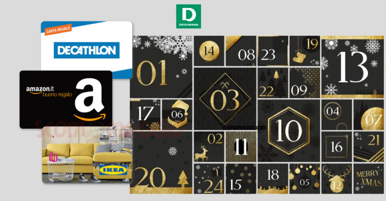 Calendario Dellavvento Gamestop.Deichmann Calendario Dell Avvento Vinci Gratis Buoni