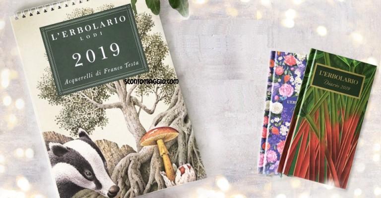 Calendario Erbolario 2020.L Erbolario Come Ricevere Calendario 2019 E Agenda 2019