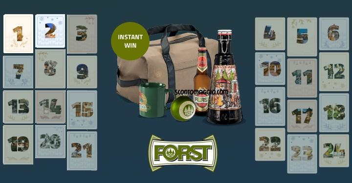 Calendario Avvento Birra.Forst Calendario Dell Avvento Vinci Gratis Tanta Birra E