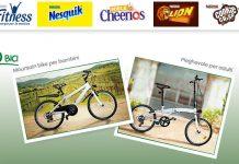 nestle cereali bicicletta