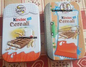 box kinder cereali kinder bueno