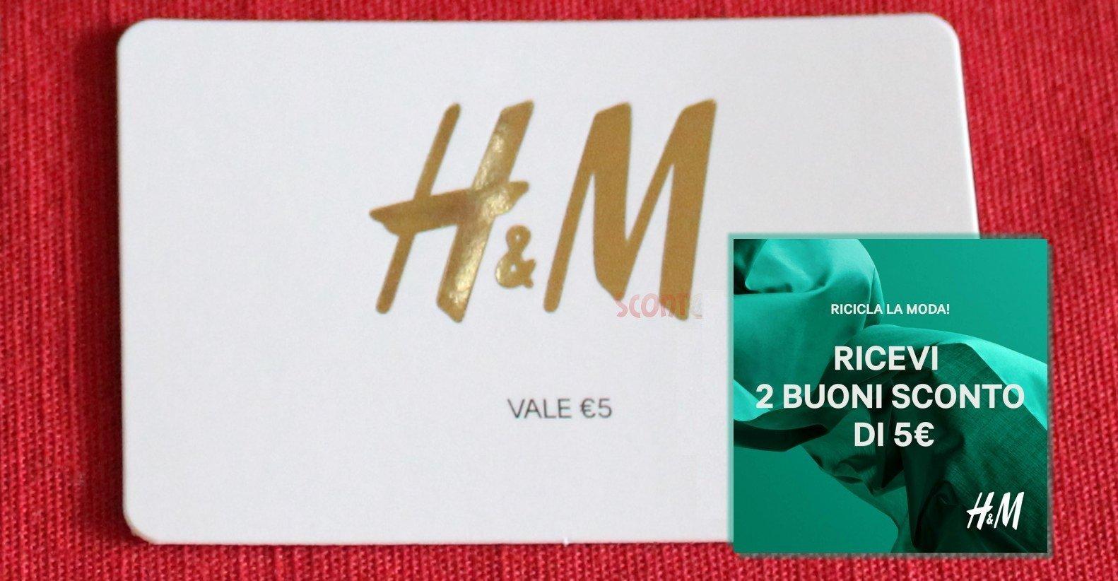 online store 31705 604c9 H&M: ricicla i vecchi abiti e ricevi buoni sconto (2019 ...