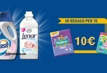 dash lenor pampers