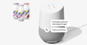 google home actimel