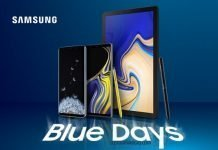 samsung blue days