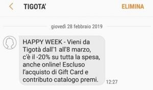 tigota happy week