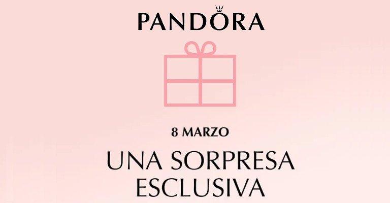 3b988173255b64 Pandora: sorpresa speciale per l'8 marzo! - scontOmaggio