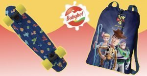 babybel toy story 4 skateboards zainetto