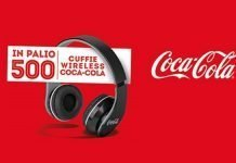 cocacola cuffie wireless