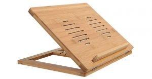 supporto pc legno