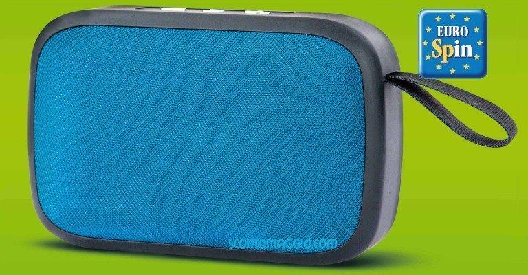 Eurospin: speaker bluetooth 5.0 a 1 euro (solo 2 giorni