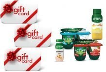 activia gift card