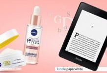 nivea kindle paperwhite