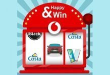happy win vodafone