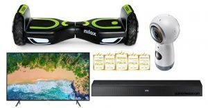 hoverboard nilox samsung