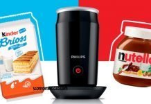 kinder nutella montalatte philips