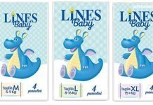 lines baby pannolini