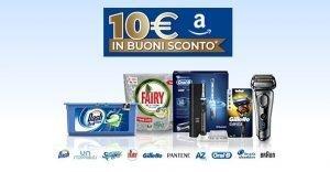amazon p&g 10 euro