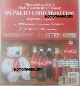 coca-cola orso volantino
