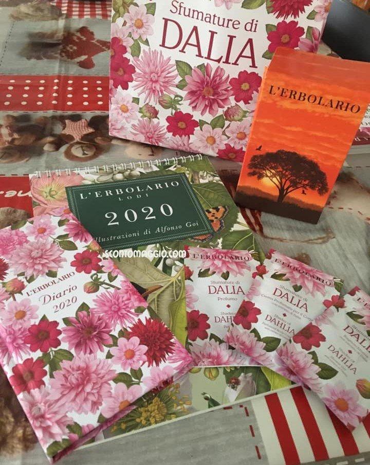 L'Erbolario: Calendario 2020 e Agenda 2020 in omaggio   scontOmaggio