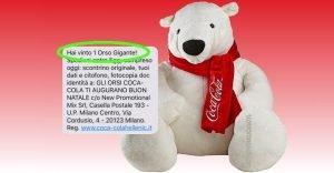 Orso Coca-Cola