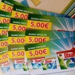 buoni spesa dixan 5 euro