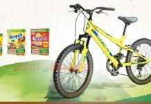 bicicletta nesquik cheerios
