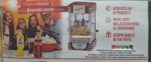 popcorn machine coca-cola
