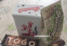scatola latta gocciole