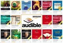 amazon audible audiolibri