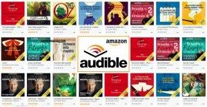 amazon audible audiolibri