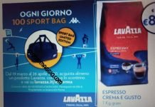 lavazza sport bag