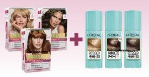 L'Oréal Excellence e Ritocco Perfetto