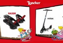 loacker razor nilox