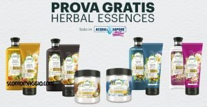 prova gratis herbal essences