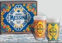 bicchieri Birra Messina