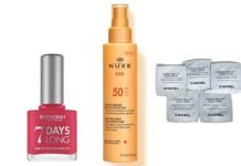 deborah 7 days long nuxe spray