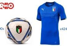 ringo maglia pallone italia