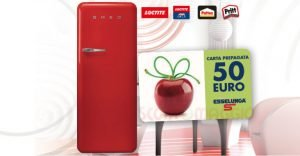 frigo smeg card esselunga