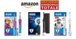 Oral-B Rimborso Totale su Amazon